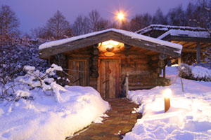 Mariba Sauna Winter