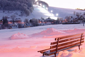 Wintersport in Neustadt und Sebnitz
